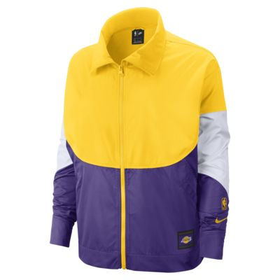 Los Angeles Lakers Nike Women's NBA Jacket