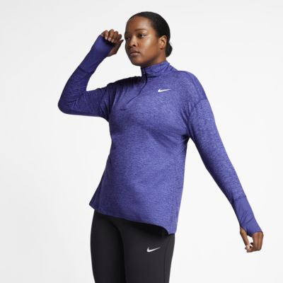 Nike Element (Plus Size) Women's Half-Zip Running Top
