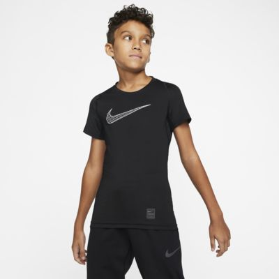 Nike Pro Older Kids' (Boys') Short-Sleeve Training Top