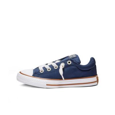 Converse Chuck Taylor All Star Street Pinstripe Big Kids' Shoe