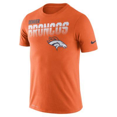 Męski T-shirt z długim rękawem Nike Legend (NFL Broncos)