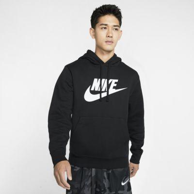 Nike Sportswear Club Fleece-pullover-hættetrøje med grafik til mænd