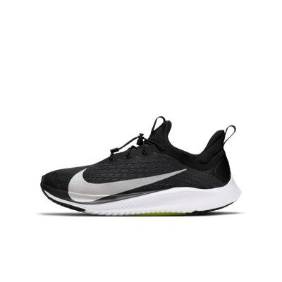 Купить Беговые кроссовки для школьников Nike Future Speed 2, Черный/Салатовый/Белый/Серебристый металлик, 23254432, 12634045