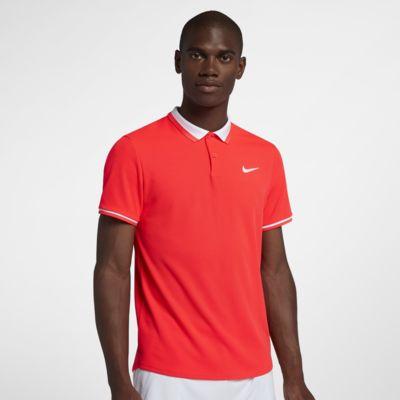Tennispikétröja NikeCourt Advantage för män