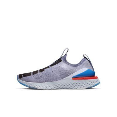 Nike Epic Phantom React Flyknit Icon Clash Big Kids' Shoe