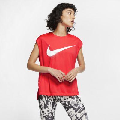 Löpartröja Nike Dri-FIT med grafik för kvinnor