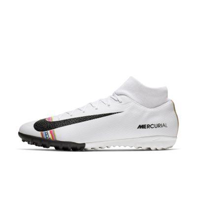 Купить Футбольные бутсы для игры на синтетическом покрытии Nike SuperflyX 6 Academy LVL UP TF, Белый/Чистая платина/Черный, 22851488, 12545560