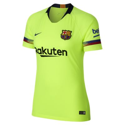 2018 19 Fc Barcelona Stadium Away Women S Football Shirt Nike Lu