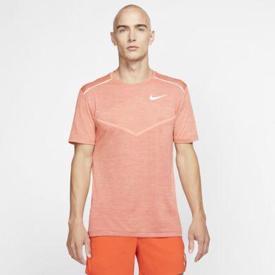 Haut de running à manches courtes Nike Techknit Ultra pour Homme