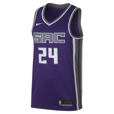 Купить Мужское джерси Nike НБА Buddy Hield Icon Edition Swingman Jersey (Sacramento Kings) с технологией NikeConnect