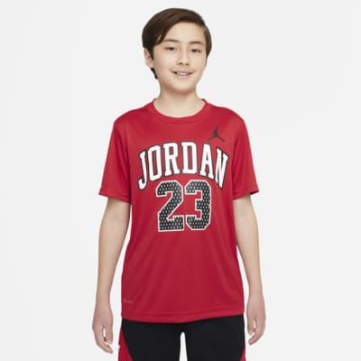 T-shirt com grafismo Jordan Dri-FIT 23 Júnior