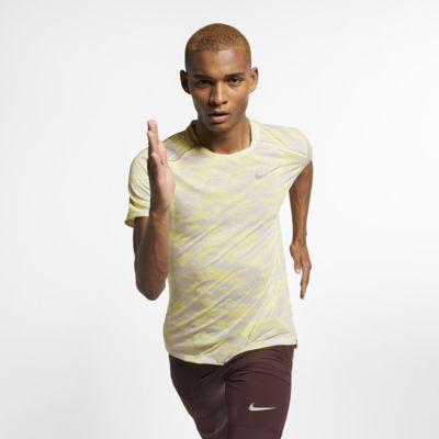 Nike Rise 365 Men's Short-Sleeve Camo Running Top