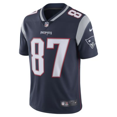 NFL New England Patriots (Rob Gronkowski) Men's Football Home Limited Jersey