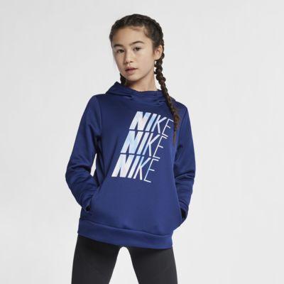Nike Therma Big Kids' (Girls') Training Pullover Hoodie