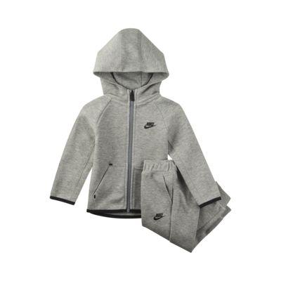 Ensemble sweat à capuche et pantalon de jogging Nike Sportswear Tech Fleece pour Bébé (12 - 24 mois)