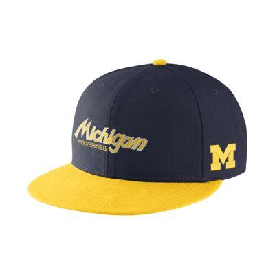 Nike College True Sport (Michigan) Adjustable Hat