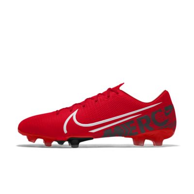 Scarpa da calcio per terreni duri personalizzabile Nike Mercurial Vapor 13 Academy FG By You
