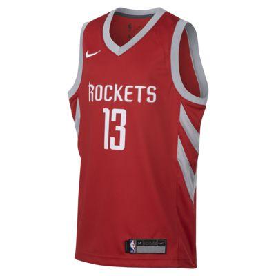 James Harden Houston Rockets Nike Icon Edition Swingman Big Kids' NBA Jersey