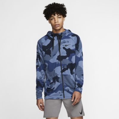 Nike Dri-FIT Men's Full-Zip Camo Hoodie