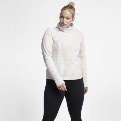 Nike Pro HyperWarm (Plus Size) Women's Long Sleeve Top