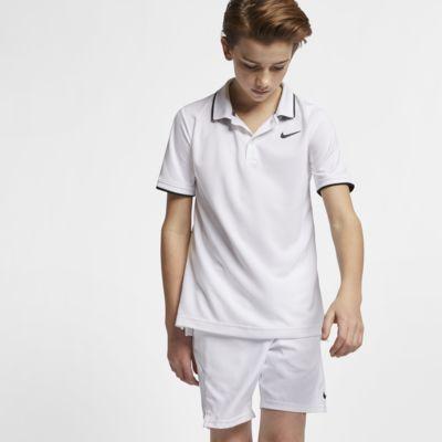 Polo de ténis NikeCourt Dri-FIT Júnior (Rapaz)