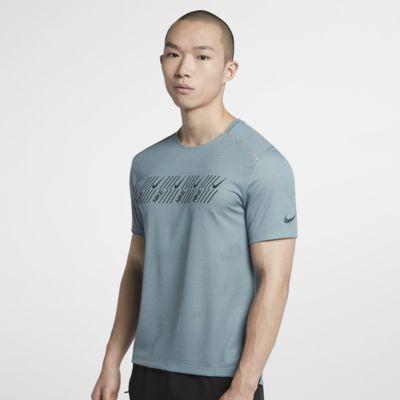 Nike Dri-FIT Miler 男子短袖跑步上衣