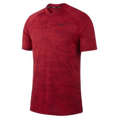 Мужская рубашка-поло для гольфа с камуфляжным принтом Nike Zonal Cooling TW