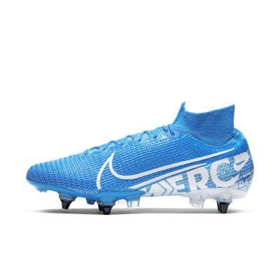 Ποδοσφαιρικό παπούτσι για μαλακές επιφάνειες Nike Mercurial Superfly 7 Elite SG-PRO Anti-Clog Traction