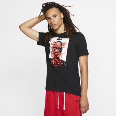 "LeBron Nike Dri-FIT ""Strive For Greatness"" Basketball-T-Shirt für Herren"
