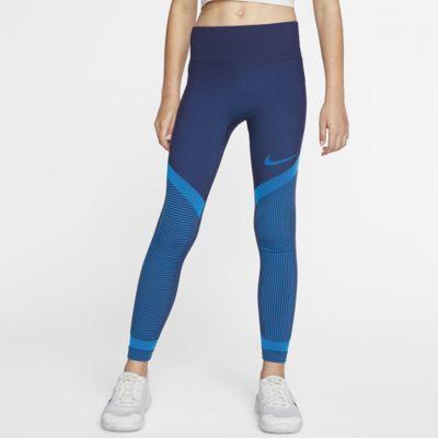 Mallas de entrenamiento sin costuras para niñas Nike Tech Pack talle grande