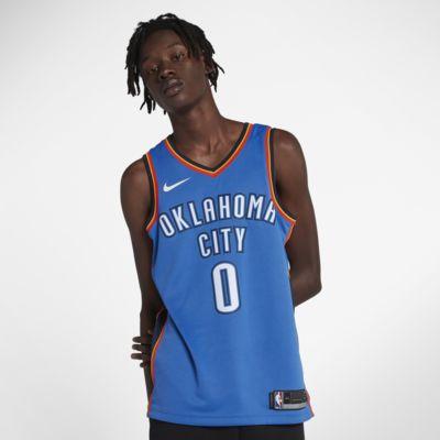 Купить Мужское джерси НБА Russell Westbrook Oklahoma City Thunder Nike Icon Edition Swingman Jersey