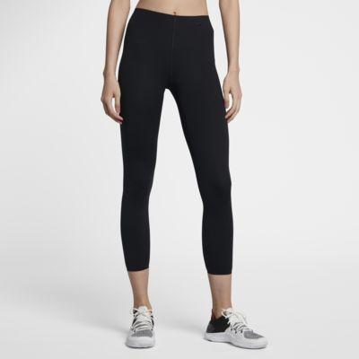กางเกงเทรนนิ่งรัดรูปโยคะผู้หญิง 7 ส่วน Nike Sculpt