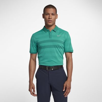 Nike TechKnit Cool Men's Striped Golf Polo