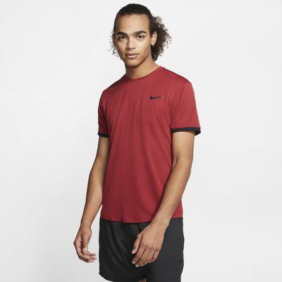 Męska koszulka z krótkim rękawem do tenisa NikeCourt Dri-FIT