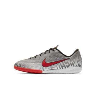 Nike Jr. Vapor XII Academy Neymar Jr IC 小/大童體育館/路面足球鞋