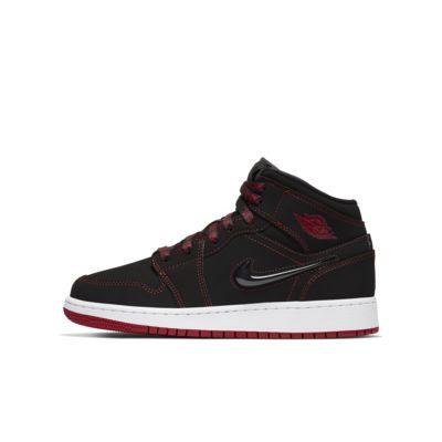 Air Jordan 1 Mid Fearless (GS) 大童运动童鞋