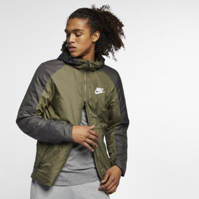 Nike Sportswear Synthetic-Fill Men's Fleece Hooded Jacket