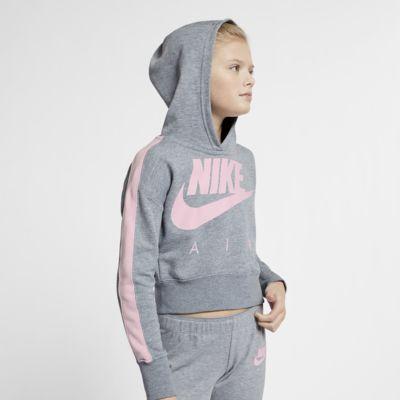 Укороченная худи для девочек школьного возраста Nike Air