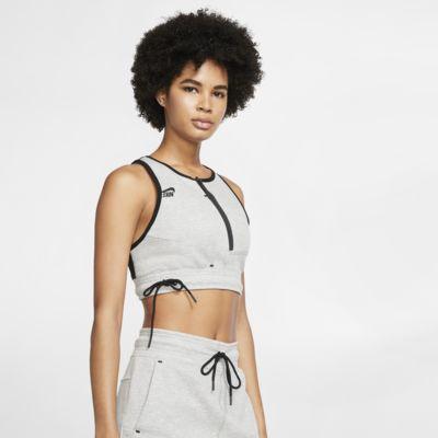 Damska koszulka bez rękawów Nike Sportswear Tech Fleece