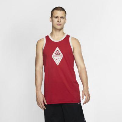 Giannis Men's Sleeveless Logo Basketball Tank