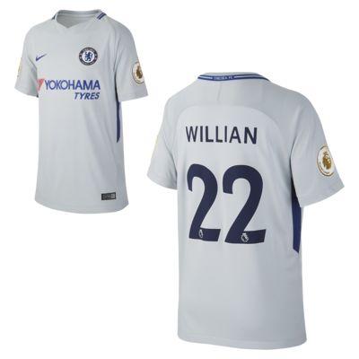 Купить Футбольное джерси для школьников 2017/18 Chelsea FC Stadium Away (Willian Borges)