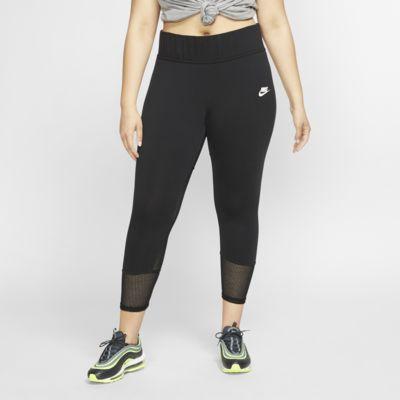 Nike Sportswear leggings i netting til dame (store størrelser)