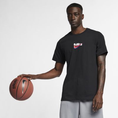 เสื้อยืดบาสเก็ตบอลผู้ชาย Nike Dri-FIT LeBron