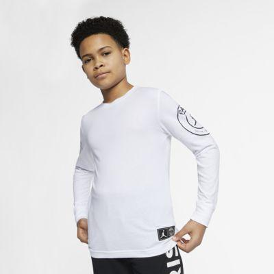Långärmad t-shirt PSG för killar