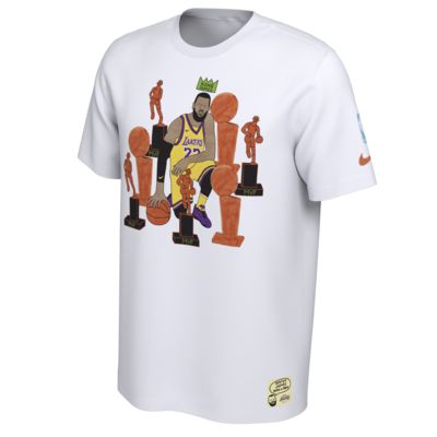 "Nike x Gangster Doodles ""King James"" Men's NBA Nickname T-Shirt"