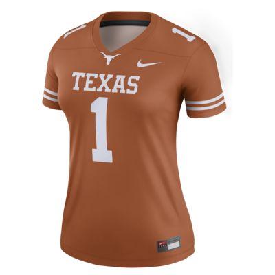 Nike College Legend (Texas) Women's Football Jersey