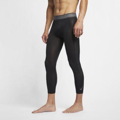 Nike Pro 3/4 lengde tights til herre