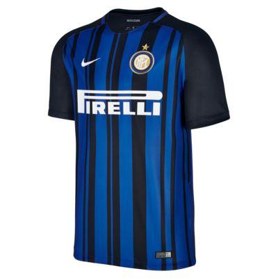 Купить Мужское футбольное джерси 2017/18 Inter Milan Stadium Home