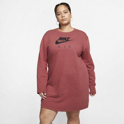 Robe en tissu Fleece Nike Air pour Femme (grande taille)