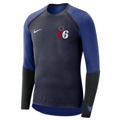 Philadelphia 76ers Nike Dri-FIT Men's Long-Sleeve NBA Top